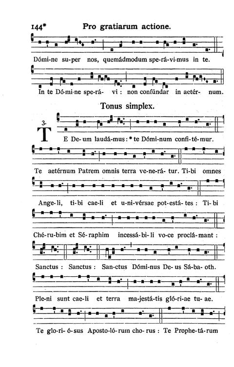 GregoBase - Te Deum (Solemn tone)